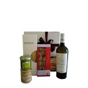 GiftBox Dinner for 2 White Wine