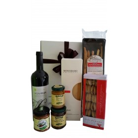 GiftBox Dinner for 2 Red Wine