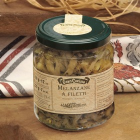 Melanzane a filetti 280gr
